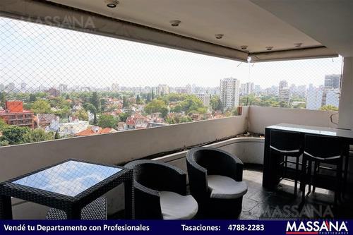 espectacular piso de 300m2 en torre aisenson con cochera triple