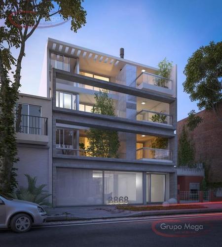 espectacular piso de 4 amb c/balcón terraza y 2 esp. guardacoches