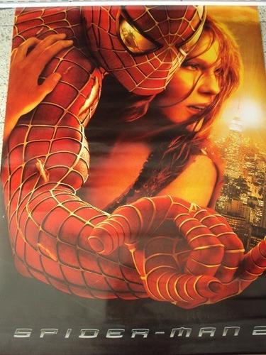 espectacular poster de la pelicula spiderman 2