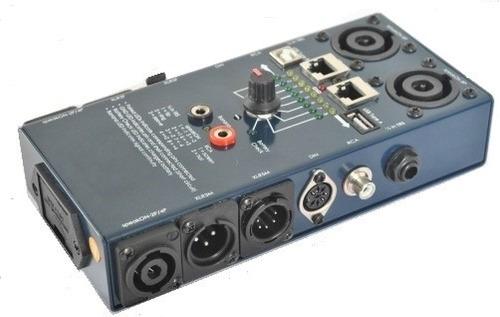 espectacular probador de todo tipo de audio y datos cables