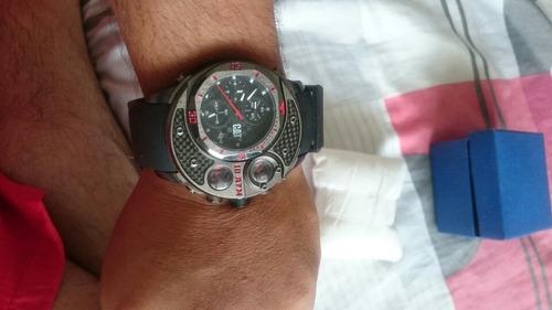 espectacular reloj caterpillar,cronografos funcionales