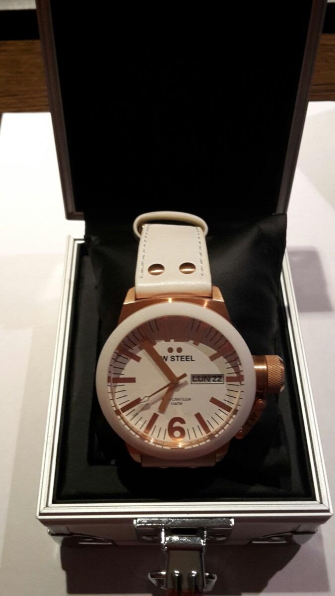 eb5048dbc69c Espectacular Reloj De Caballero Tw Steel De Acero Y Pvd -   12.200 ...