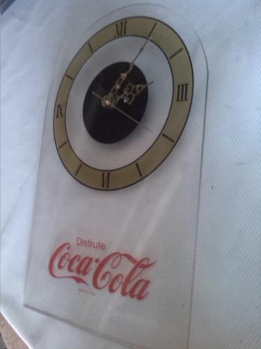 espectacular reloj de coca-cola de coleccion