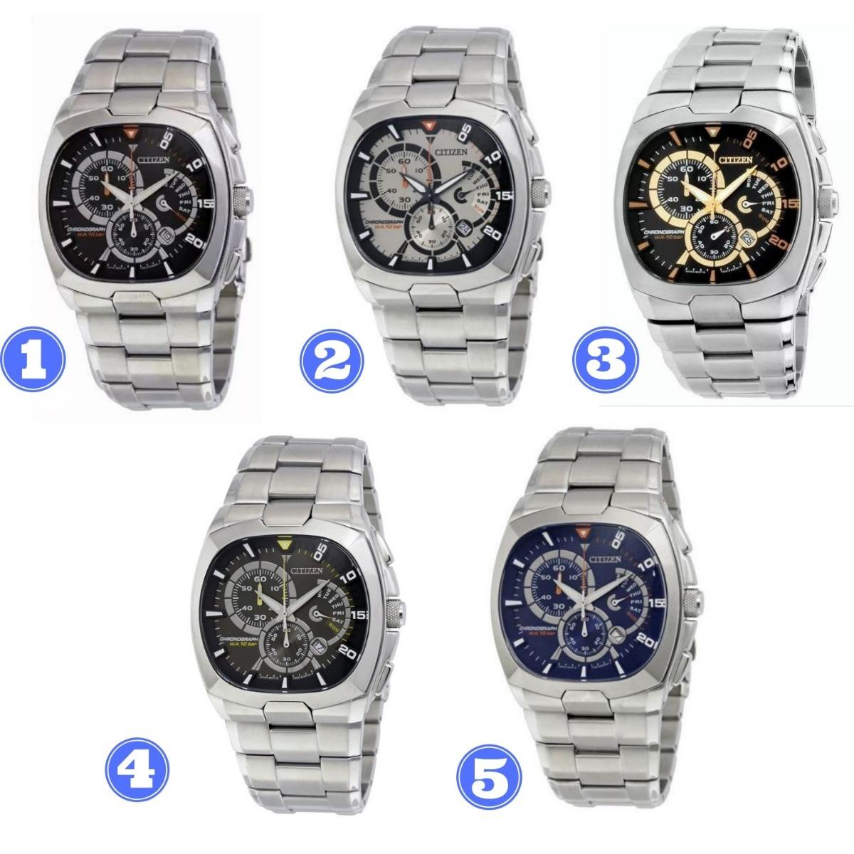 38368fa5de87 espectacular reloj de hombre cítizen fabricado 100% en acero. Cargando zoom.