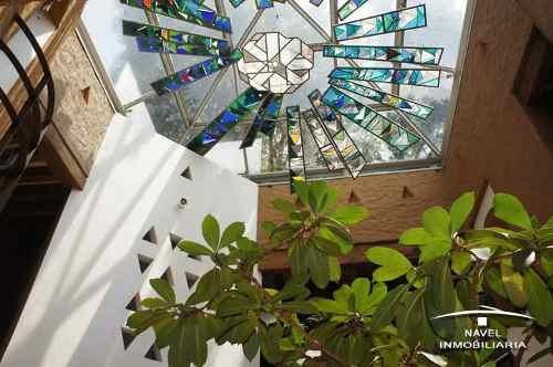 espectacular residencia, con bello vitral, cav-3467