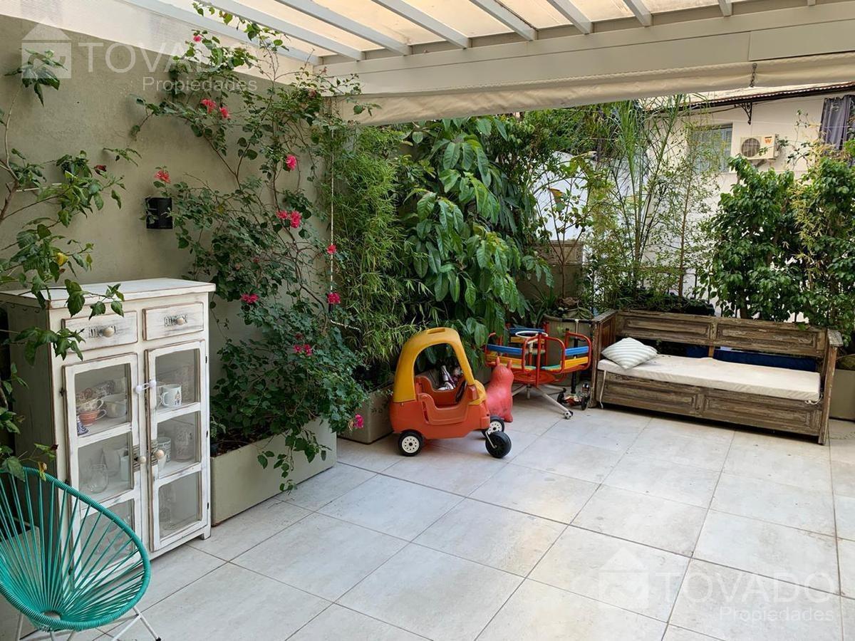 espectacular semipiso con terraza propia con parrilla en recoleta!