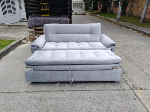 espectacular sofá cama máxima calidad