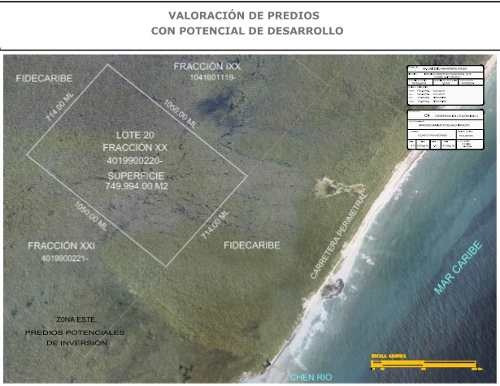 espectacular terreno ecológico a 300mts de la playa c1902