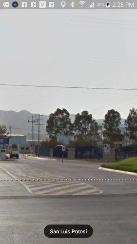 espectacular terreno en parque industrial (precio en dã³lares) en la zona industrial de san luis potosã.