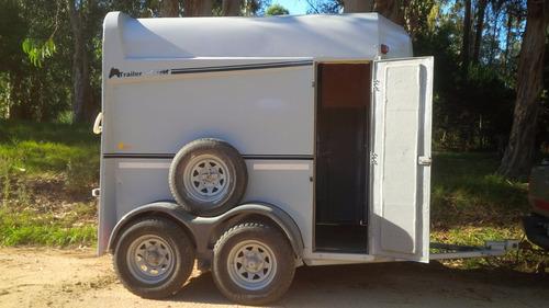 espectacular trailer fabricado en prfv - super liviano
