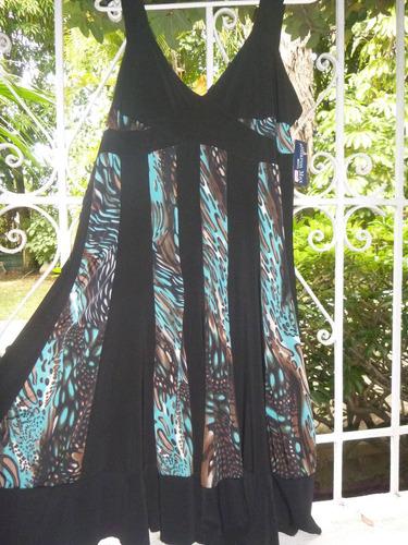 espectacular vestido de dama importado talla xl