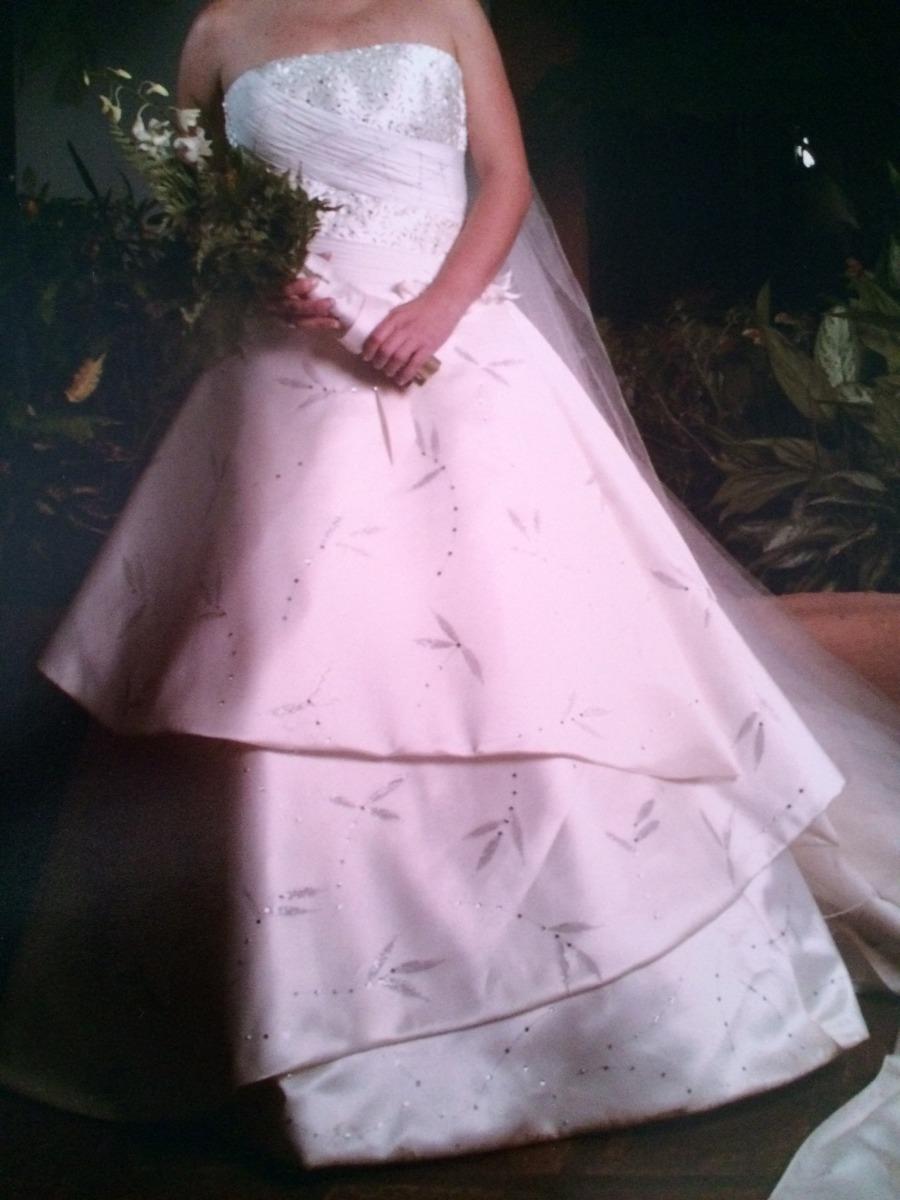Espectacular Vestido De Novia Diseñado Por Ramiro Lopez - Bs ...