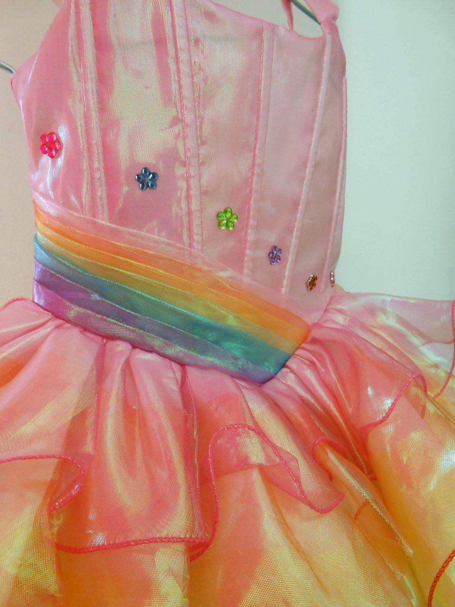 Dorable Vestidos De Dama Del Arco Iris Foto - Ideas de Estilos de ...