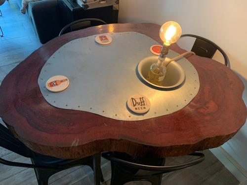 espectacular y unica mesa comedor estilo industrial