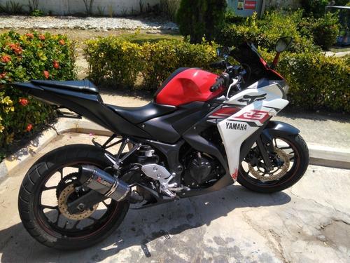 espectacular yamaha  yzf- r3  superbike como nueva
