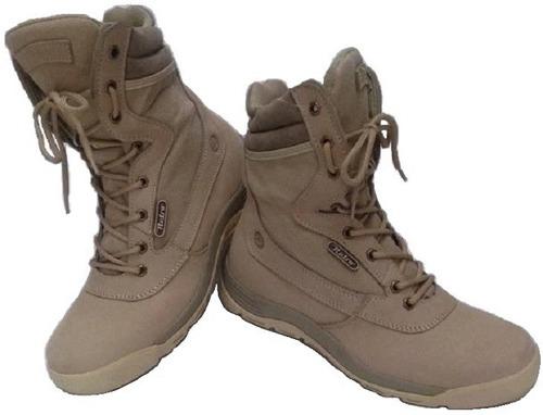 espectaculares botas tipo militar en cuero para hombre