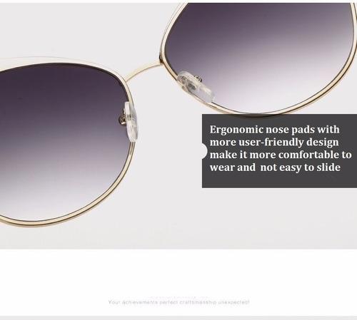 espectaculares gafas mujer-unisex colores - con estuche