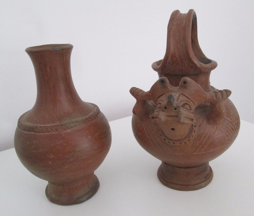 espectaculares vasijas réplicas de la cultura tayrona
