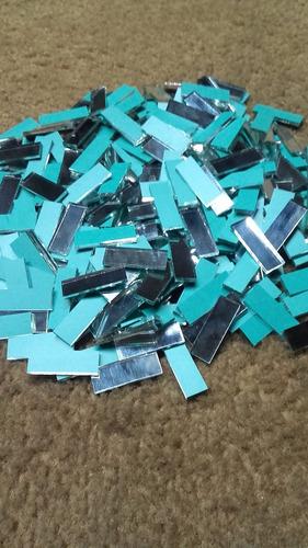 espejitos venecitas 1x3 cm por  (250)unidades