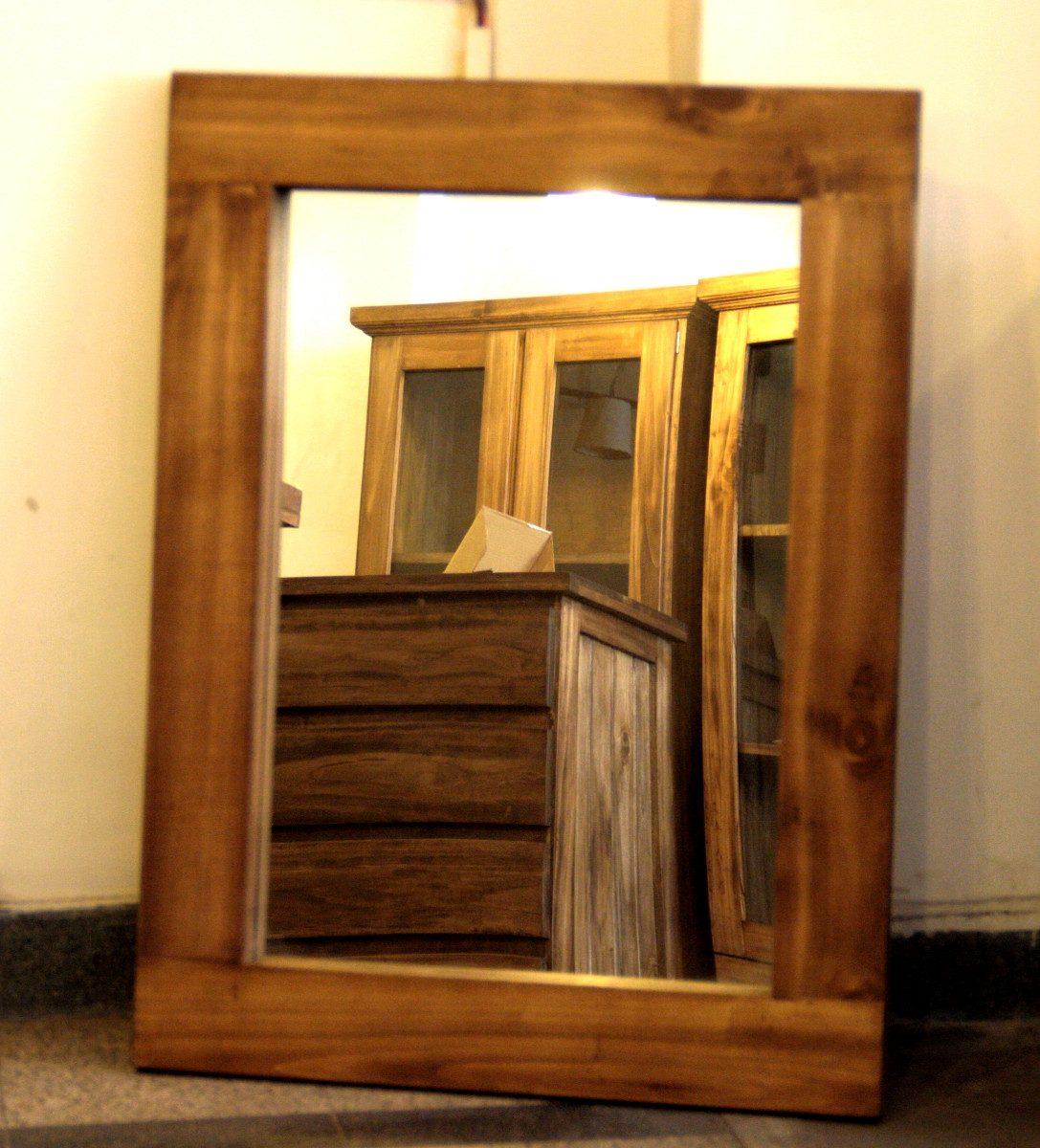 Marcos con espejos ikeando espejo con un marco ung drill for Modelos de espejos con marcos de madera
