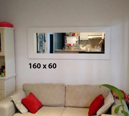 espejo 120x80 marco premium sin costura cristal 4.5 oferta