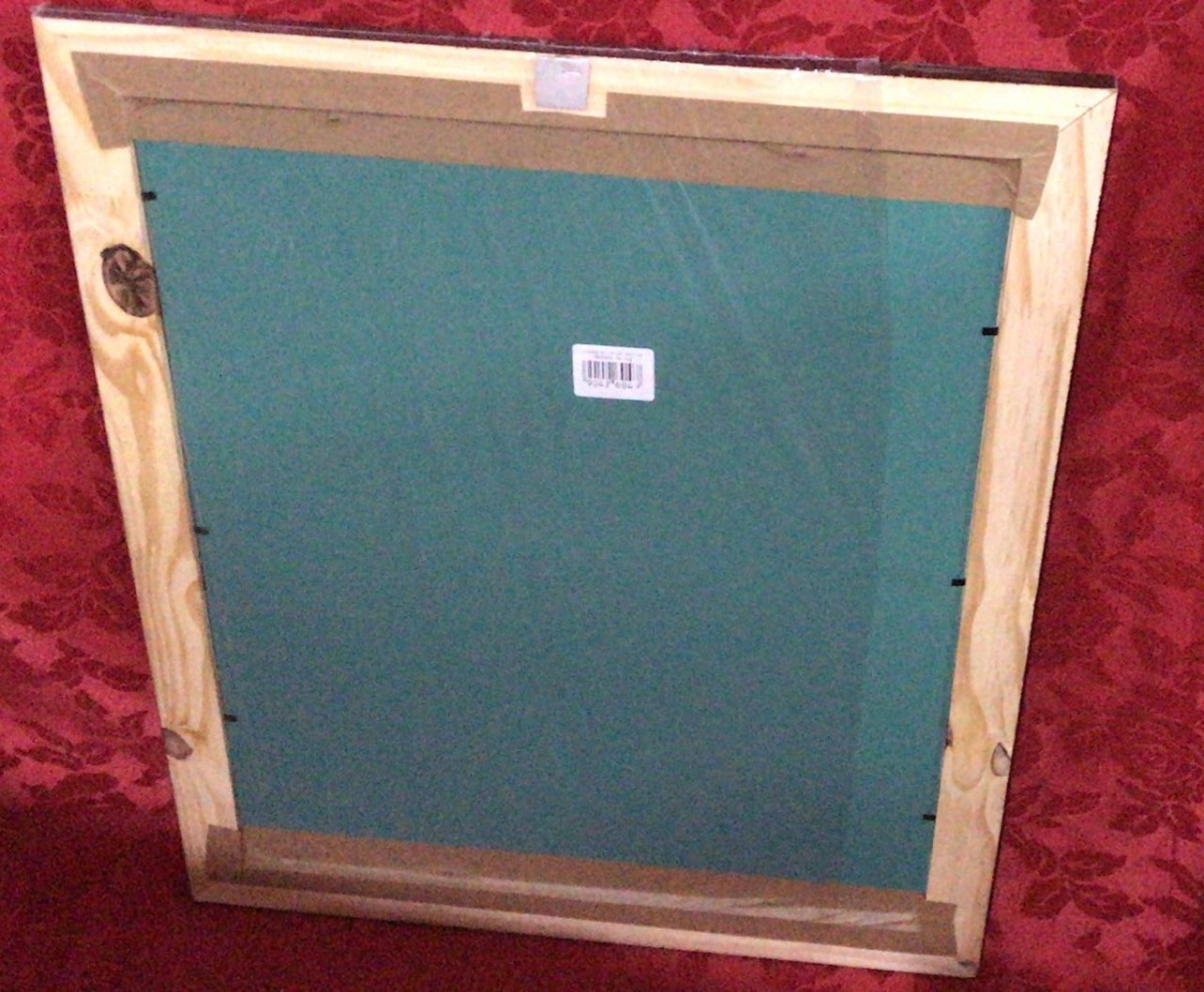 Espejo 40 X 50 Cm Con Marco De Madera (moldura Mediana) - $ 255,00 ...