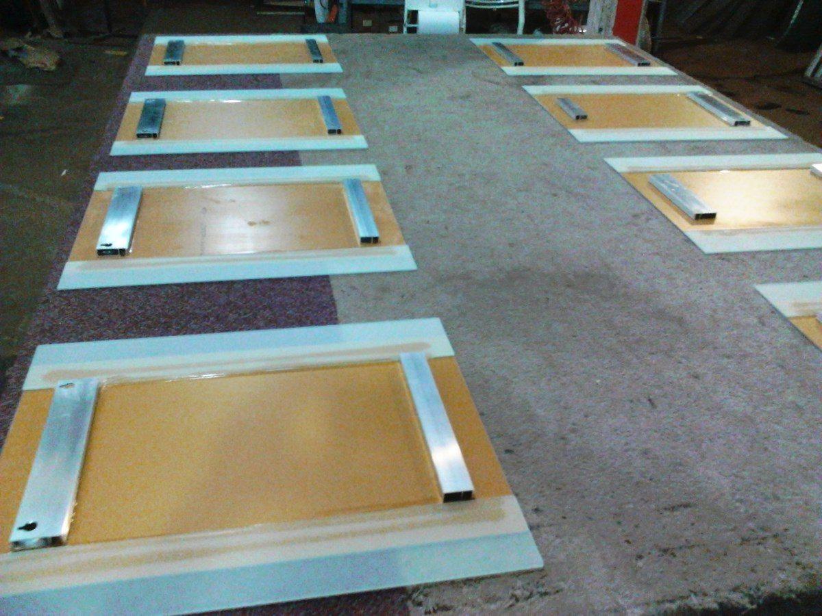 Espejo 50 X 60 Estante Repisa De Vidrio Ba Os Accesorios 890  ~ Colgar Espejo Baño Sin Taladrar