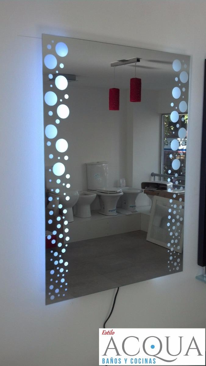 Espejo 50 X 70 Led Para Banos Y Diversos Ambientes 6 390 00 En