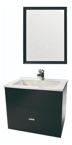 espejo 60x50 marco de madera baño cocina decorativo living