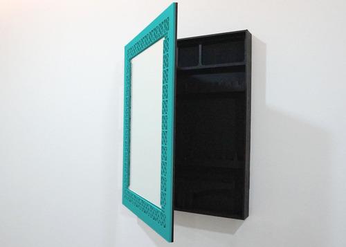 espejo alicia turquesa