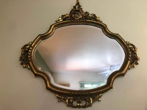 espejo antiguo bicelado tipo luis xv
