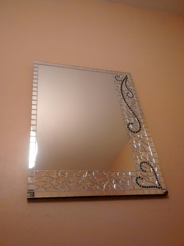 espejo artesanal medidas 65x50