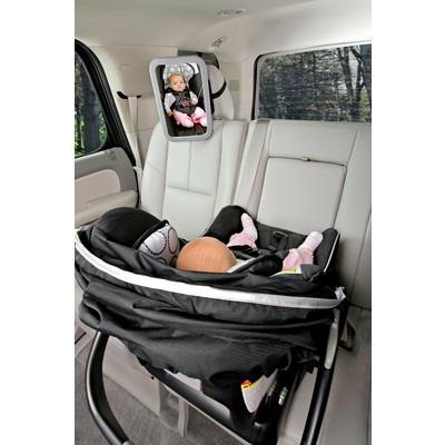 Espejo de asiento trasero para visualizar nuestros bebes for Espejo para ver al bebe