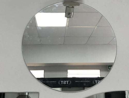 espejo baño living decoracion centros de mesa redondo 80 cm