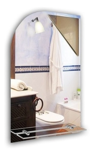 espejo baño vidrio repisa luz diseño comedor living oferta!!