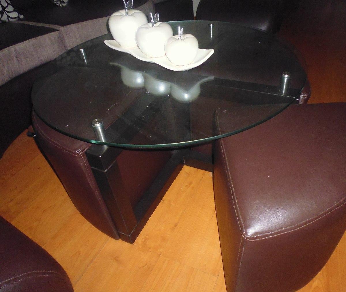 Espejo biselado de madera marco marron nuevo s 229 00 for Espejo con marco biselado