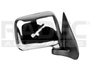 espejo chevrolet luv 2002-2003-2004-2005-2006 manual cromado