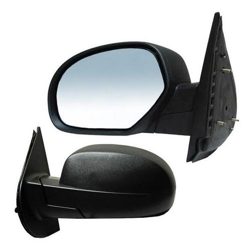 espejo chevrolet silverado 2011-2012-2013 negro derecho