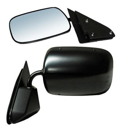 espejo chevrolet silverado95-96-97-98 custom negro derecho