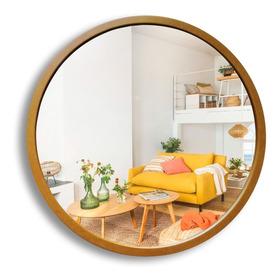 Espejo Circular 60 Baño Living Comedor Diseño Redondo Pared