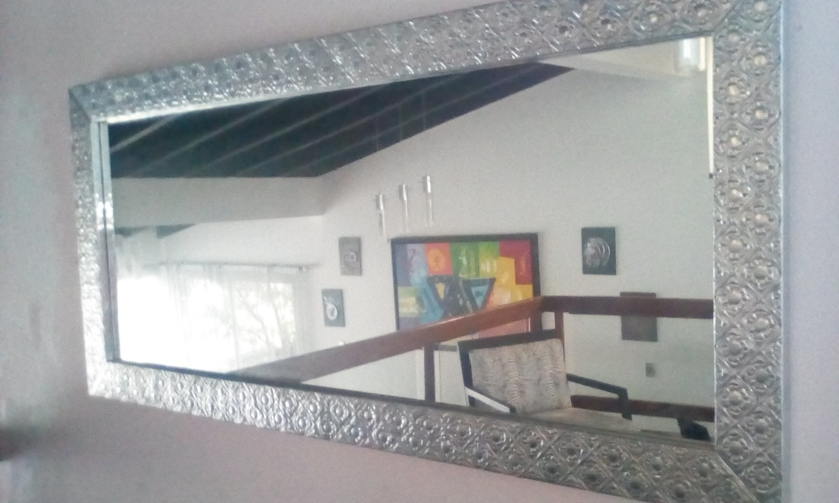 Espejo Comedor Aluminio Repujado - Bs. 4.900.000,00