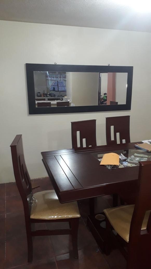 Espejo Comedor Marco De Madera 1.70 X 70 Envio Gratis - U$S 120,00 ...
