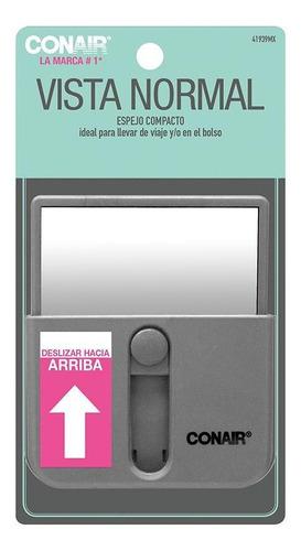 espejo compacto slide up vista normal conair 41939mx