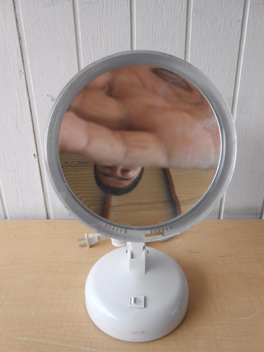espejo con aumento para maquillaje la luz no funciona 438
