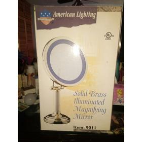 Espejo Con Luz  Aumento 3x