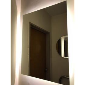 Espejo Con Luz Led 60 X 80 Para Baño Accesorios Caba