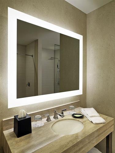 espejo con luz led integrada 90x127 cm