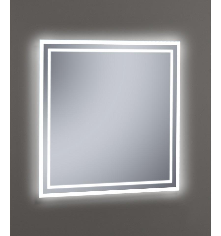 Espejos De Baño Con Luz | Espejo Con Luz Led Para Bano 1 Metro X 80 6 579 00 En Mercado Libre
