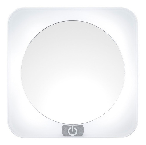 espejo con luz led y aumento de 12x be58es