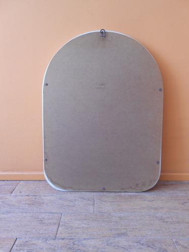 espejo con marco de madera 60 x 45 cm. (necesita pintura)